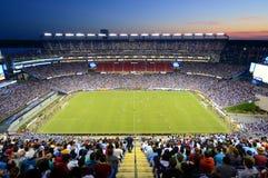 Стадион Gillette, Foxborough, Массачусетс, США стоковое фото