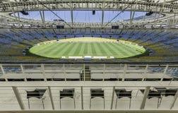Стадион Maracana в Рио-де-Жанейро, Бразилии стоковые изображения rf