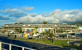Стадион Maracana в Рио-де-Жанейро Стоковое Изображение RF