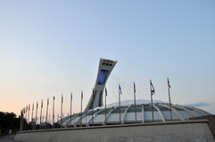стадион montreal олимпийский Стоковое Фото