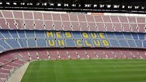 стадион nou дома fc лагеря barcelona Стоковое Изображение