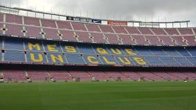 стадион nou дома fc лагеря barcelona Стоковые Фото