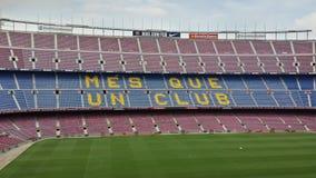 стадион nou дома fc лагеря barcelona Стоковая Фотография