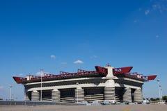 Стадион San Siro милана Стоковая Фотография