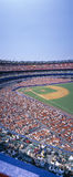 Стадион Shea, NY Mets v SF Giants, Нью-Йорк Стоковое Изображение RF