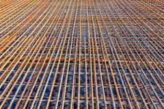 Стальная арматура для усилила конкретный мост Стоковая Фотография RF