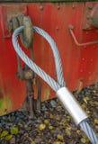 Стальная веревочка стоковые фото