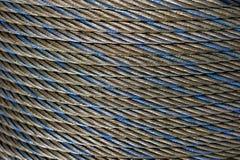 Стальная веревочка Стоковое Изображение