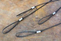Стальная веревочка Стоковое Изображение RF