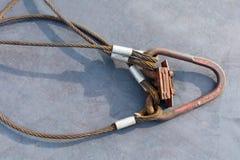 Стальная веревочка Стоковое Фото