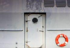 Стальная дверь Стоковое фото RF