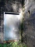 Стальная дверь Стоковые Изображения RF