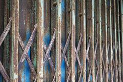 Стальная дверь Стоковое Изображение