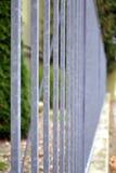 Стальная загородка Стоковые Фото