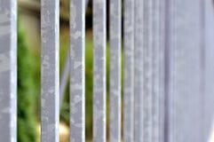 Стальная загородка Стоковые Изображения RF