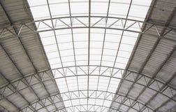 Стальная крыша. Стоковое фото RF