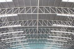 Стальная крыша. Стоковое Фото