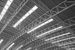 Стальная крыша. Стоковые Изображения RF