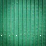Стальная металлическая старая ржавая дверь, зеленый металл grunge Стоковое Изображение RF