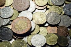 Стальная монетка Стоковое фото RF