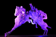 Стальная скульптура Стоковое Изображение