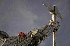 Стальная скульптура Стоковые Фото