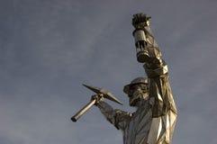 Стальная скульптура Стоковые Фотографии RF