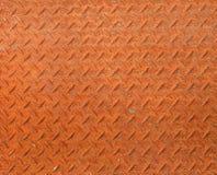 Стальная текстура плиты диаманта Стоковые Изображения