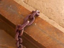 Стальная цепь Стоковые Изображения RF