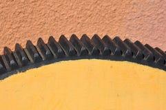 Стальное цепное колесо Стоковая Фотография