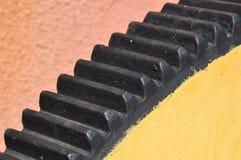 Стальное цепное колесо Стоковое Изображение