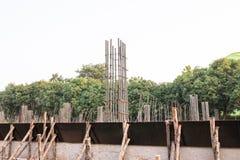 стальной бар подкрепления Стоковая Фотография RF
