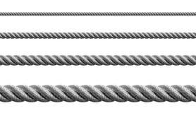 Стальной изолированный комплект перлиня металла Стоковая Фотография RF