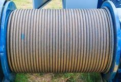 Стальной кабель Стоковые Фотографии RF