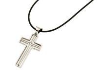 Стальной крест Стоковые Изображения