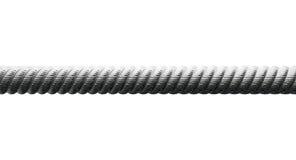 Стальной крупный план кабеля стоковые изображения