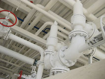 Стальной предохранительный клапан весны Стоковая Фотография RF