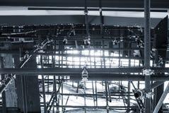 Стальной строить картины конструкции промышленный Стоковая Фотография RF