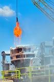 Стальные ведра для того чтобы транспортировать расплавленный метал Стоковые Фото