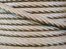Стальные катушки веревочки Стоковое фото RF