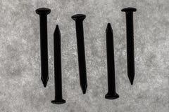 Стальные ногти Стоковое Изображение RF