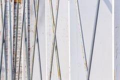 Стальные пруты поддержки Стоковые Фото