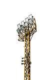 Стальные света стадиона башни Стоковая Фотография