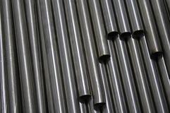 Стальные трубки Стоковое фото RF