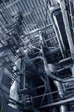 Стальные трубопроводы и оборудование Стоковые Фото
