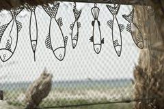 Рыбы игрушки в Vadu Стоковые Изображения
