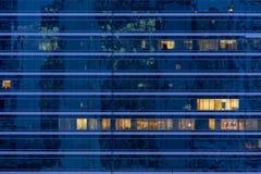 сталь здания стеклянная самомоднейшая Стоковое Фото