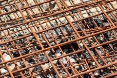 сталь конструкции ржавая Стоковое Фото