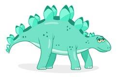 Стегозавр динозавра шаржа Стоковое Изображение RF
