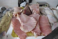 Стейки белых рыб Стоковое фото RF